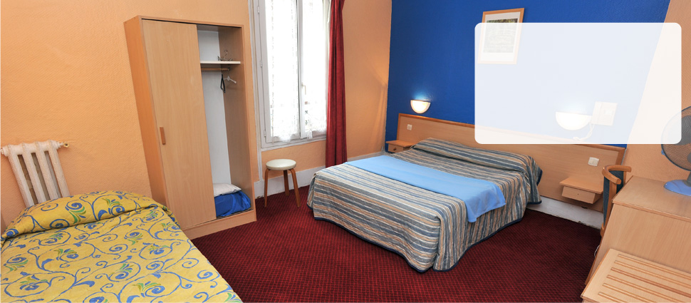 Chambres economiques hotel pas cher hotel 2 etoiles for Chambre hotel moins cher